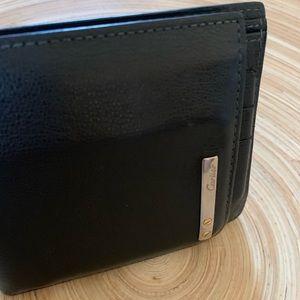 Cartier Men's black wallet